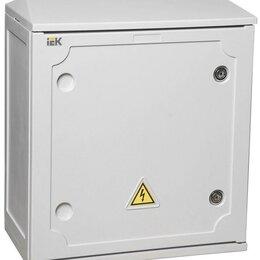 Электрические щиты и комплектующие - Корпус полиэстерный ЩМП 440х400х205мм IP54 IEK YKP40-N-442-54, 0
