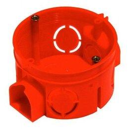 Корзины, коробки и контейнеры - HEGEL коробка уст. внеш. 68х42мм (внутр. 64х40мм) СУ для твердых стен 7 вводо..., 0