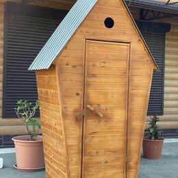 Биотуалеты - Уличный туалет из вагонки, 0