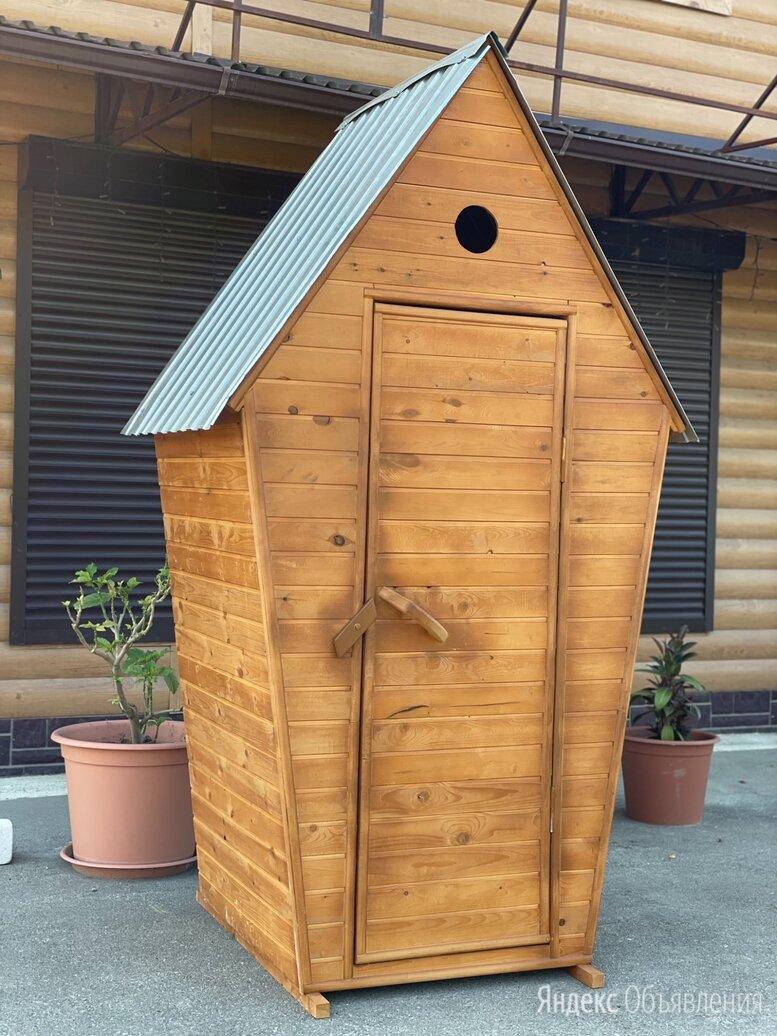 Уличный туалет из вагонки по цене 15500₽ - Биотуалеты, фото 0