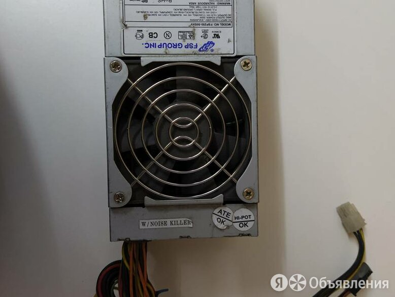БП/250W/slim/FSP 250-50SAV по цене 450₽ - Блоки питания, фото 0