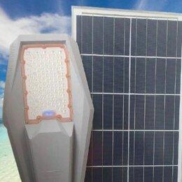 Уличное освещение - Прожектор уличный 100 Вт на солнечных батареях, 0