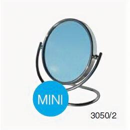 Интерьерная подсветка - Сантехторг Зеркало косметическое настольное Сантехторг mini 3050/2 складное, 0