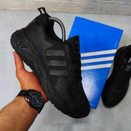 Кроссовки и кеды - Мужские кроссовки Adidas Черные 41-46, 0