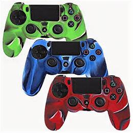 Рули, джойстики, геймпады - PS 4 Controller Silicon Case, 0