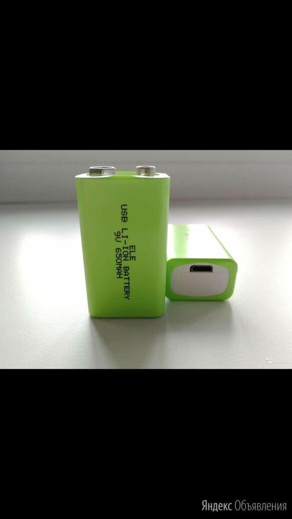 Аккумулятор Крона 9 вольт 650 а/ч по цене 600₽ - Батарейки, фото 0