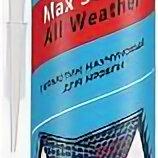 Изоляционные материалы - Герметик каучуковый Sila PRO Max Sealant,All weather для кровли кирпичный 290мл., 0