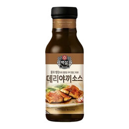 Продукты - Соус соевый терияки CJ Beksul, 325 г, 0
