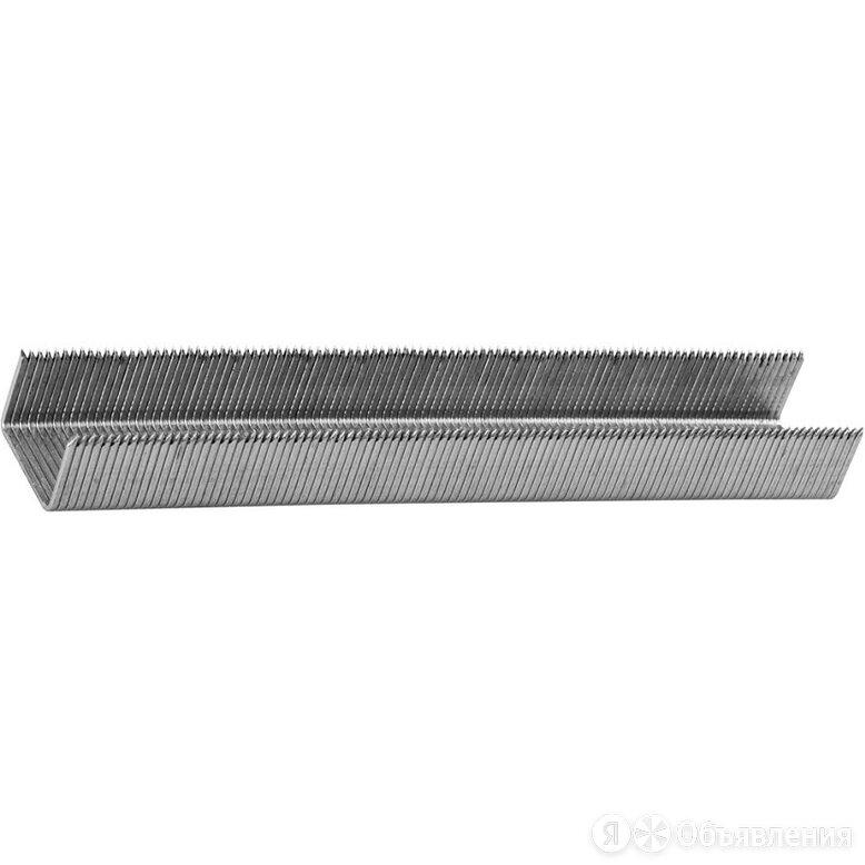 Скобы FIT для степлера, тип 53 прямоугольные, 12 мм, 1000 шт по цене 84₽ - Гвоздескобозабивные пистолеты и степлеры, фото 0