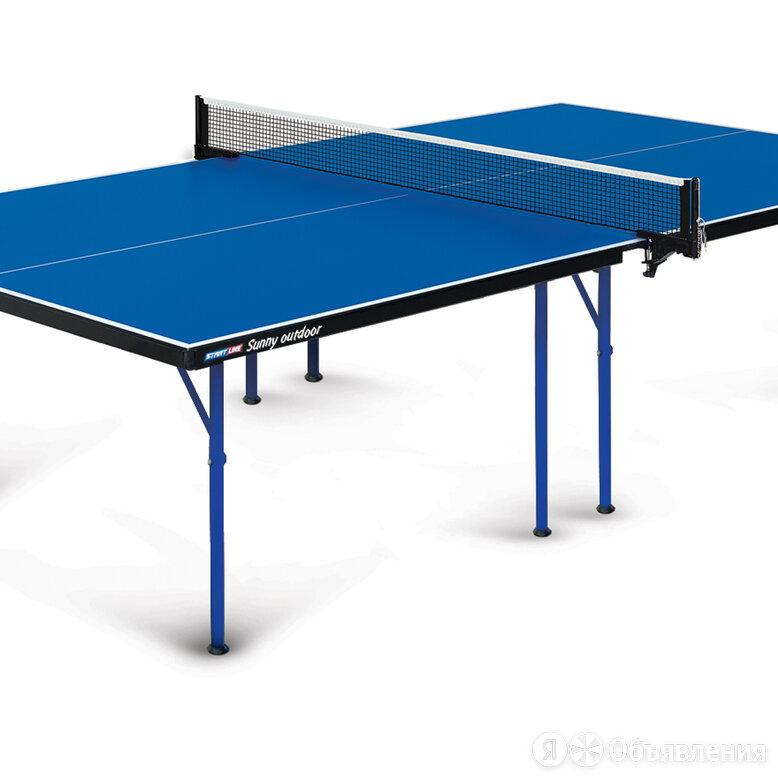 Теннисный стол  Start Line Sunny  Outdoor по цене 29670₽ - Столы, фото 0