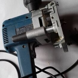 Фрезеры - машина фрезерная ручная электрическая мфз-1100э, Фиолент, 0