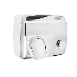 Сушилки для рук - Сушилка для рук G-teq 8844 MC, 2.3 кВт, антивандальная, с кнопкой включения, ..., 0
