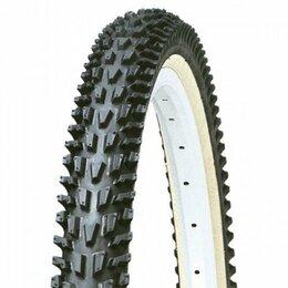 Покрышки и камеры - Покрышка велосипедная Kenda K-837, 24x1.95, черная, 527408, 0