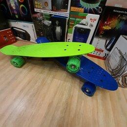 Скейтборды и лонгборды - Скейтборд пластиковый, 0