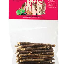 Лакомства  - LITTLE ONE Ветви смородины. Лакомство для всех видов грызунов 50гр , 0