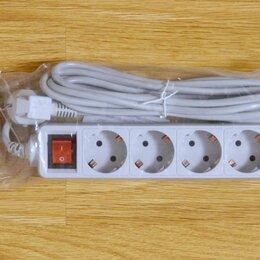 Источники бесперебойного питания, сетевые фильтры - Новый сетевой фильтр PC-PET 3метра 5розет с заземл, 0