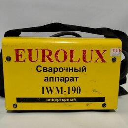 Сварочные аппараты - Сварочный аппарат eurolux, 0