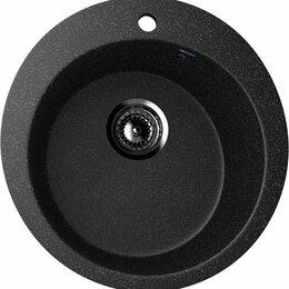 Кухонные мойки - Мойка ULGRAN U-405 Черная, 0