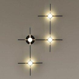 Бра и настенные светильники - Настенный светильник odeon light costella 3906/14wl, 0