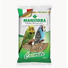 Корма - MANITOBA зерновая смесь 1кг для Волнистых попугаев , 0