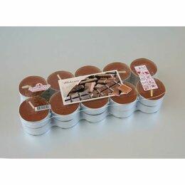 Ароматерапия - Набор чайных свечей ароматизированных «Шоколад», 20 штук, 0