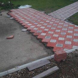 Готовые строения - укладка плитка за кв /м тротуални, 0