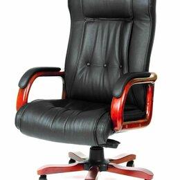 Компьютерные кресла - Компьютерное кресло CHAIRMAN 653 для руководителя, 0
