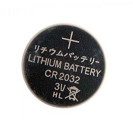 Батарейки - Батарейка CR2032 (литиевая / 3В), 0