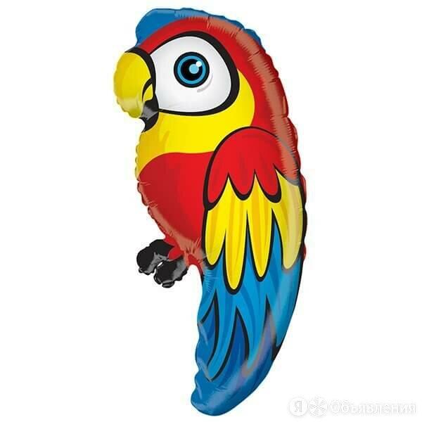 Фольгированный шар Попугай. по цене 420₽ - Интерьерная подсветка, фото 0