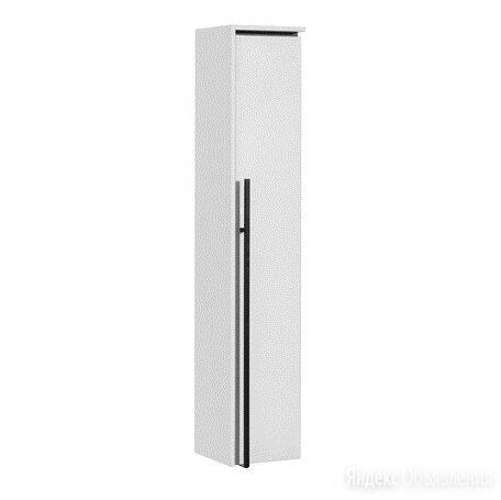 Пенал Roca Aneto R 23 (1 дверка) белый/черный 857467806 по цене 11396₽ - Мебель для кухни, фото 0