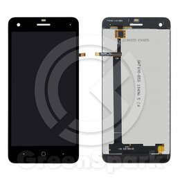 Дисплеи и тачскрины - Дисплей для ZTE Blade A330 +тач черный, 0