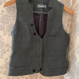 Комплекты и форма - Школьная форма Sky Lake 44p(жилетка, юбка, брюки), 0