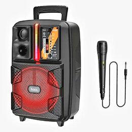 Портативная акустика - Оригинал. Bluetooth колонка с микрофоном Hoco BS37, 0