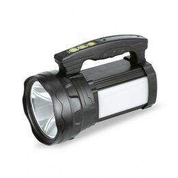 Фонари - Smartbuy фонарь-прожектор SBF-503-K (акк. 10 Ah) 10W+3W, 8 реж.,USB,з/у 220V,..., 0