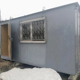 Готовые строения - Строительные вагончики, Бытовка под офис, 0