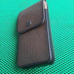 Чехлы - Кожаный чехол для телефона нестандартный ручной работы , 0