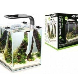 Аквариумные рыбки - Креветкариум aquael smart plant ll 30 (белый), 0