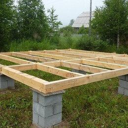 Архитектура, строительство и ремонт - Для деревянной беседки нужно изготовить столбчатый фундамен, 0