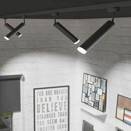 Потолки и комплектующие - Натяжные потолки с трековыми светильниками установка в Москве и МО, 0
