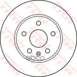 Тормоза - Диск Торм.Пер.Opel Insignia 08-17 296x30 (Торм.Сист. 16 Дюймов) TRW арт. DF4995S, 0