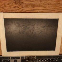 Доски - Доска для рисования мелом маркером детская, 0