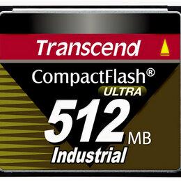 Карты памяти - Карта CompactFlash 512MB Transcend Industrial, 0
