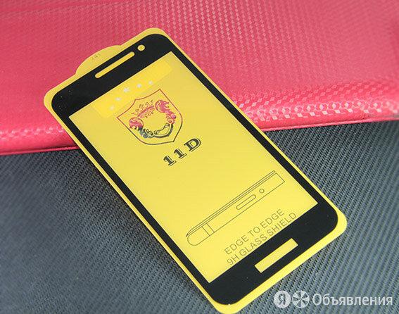 Защитное стекло для Samsung J260 J2 CORE FULL GLUE (желтая основа) пакет черный по цене 160₽ - Защитные пленки и стекла, фото 0