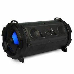 Портативная акустика - Портативная колонка BT-1602. Размер 39х21 см, 0