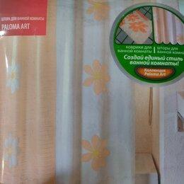 Шторы и карнизы - Штора для ванной комнаты, 200*180 см, scid042p, paloma art, iddis, 0
