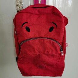 Рюкзаки, ранцы, сумки - Рюкзак детский красный Kipling, 0