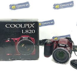 Фотоаппараты - Фотоаппарат Nikon Coolpix L820, 0