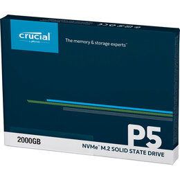 Жёсткие диски и SSD - Crucial P5 SSD NVMe M.2 2TB CT2000P5SSD8, 0