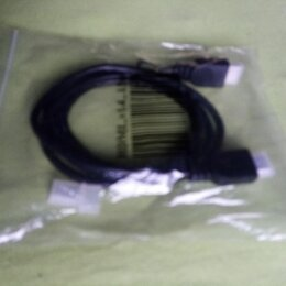 Кабели и разъемы - кабель HDMI-HDMI 1,5м новый, 0