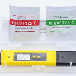 Измерительные инструменты и приборы - Ph метр цифровой espada, модель ph-02, для измерения уровня ph жидкостей, 0